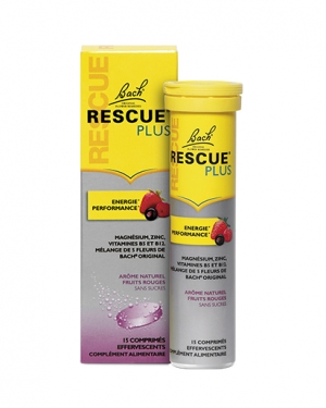 RESCUE® PLUS COMPRIMÉS EFFERVESCENTS